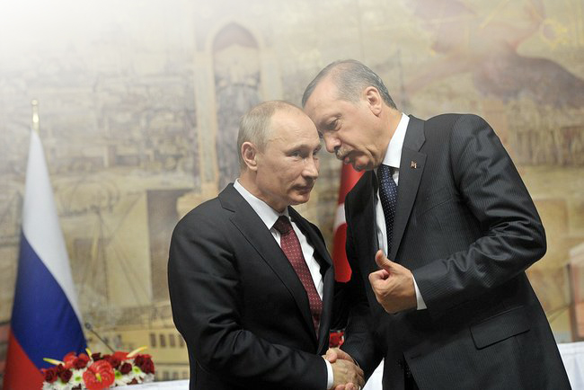 The Limits of rapprochement between Putin and Erdogan