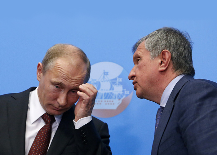 "Rosneft's ""privatization"": a preview of Putin's new global order"