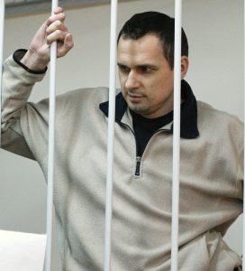 Олег Синцов, задържан незаконно в руски затвор