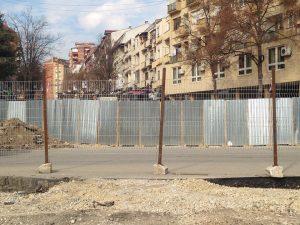 Mitrovica fence