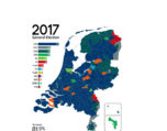 Dutch Elections map
