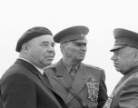 Shelest with Marshal Grechko and General Epishev 2