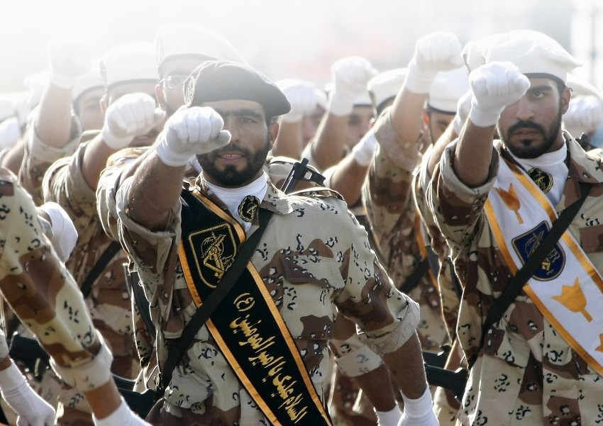 Терористична организация ли е революционната гвардия на Иран?