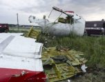 The aircraft that was shot down over Ukraine in July 2014 - Malaysia Airlines Flight 17