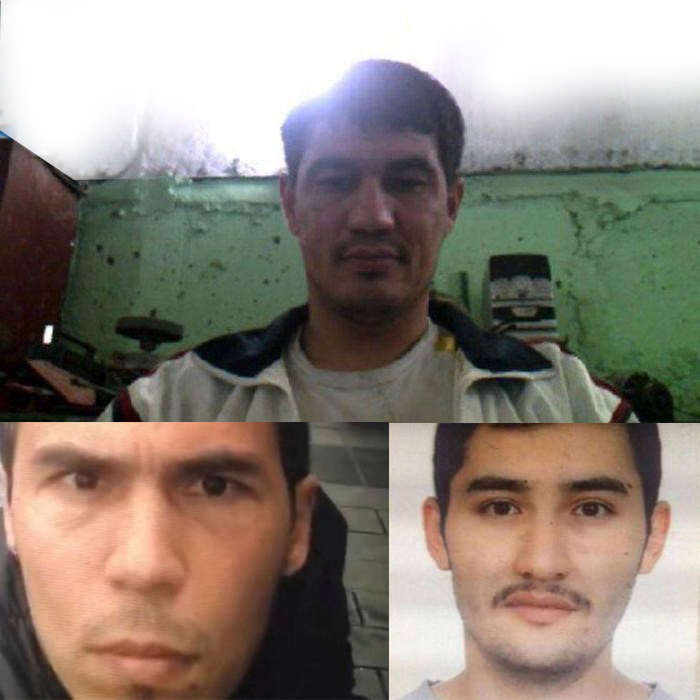 Three Uzbek Nationals and Three Different Faces of Terror