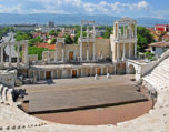 The Roman theater