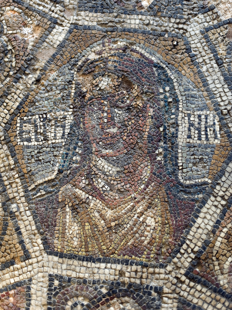 The portrait of goddess Eirene