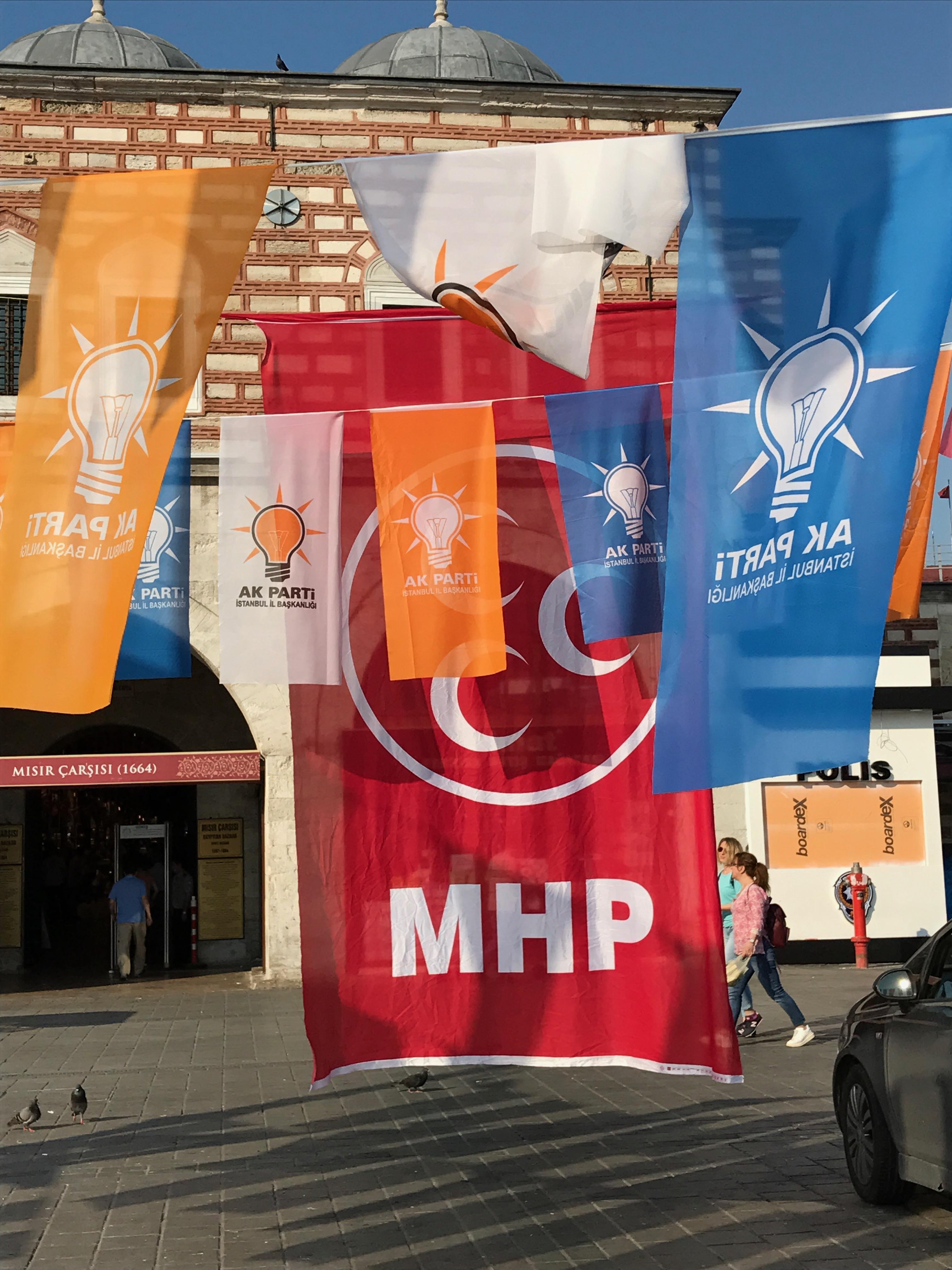MHP AKP Flags