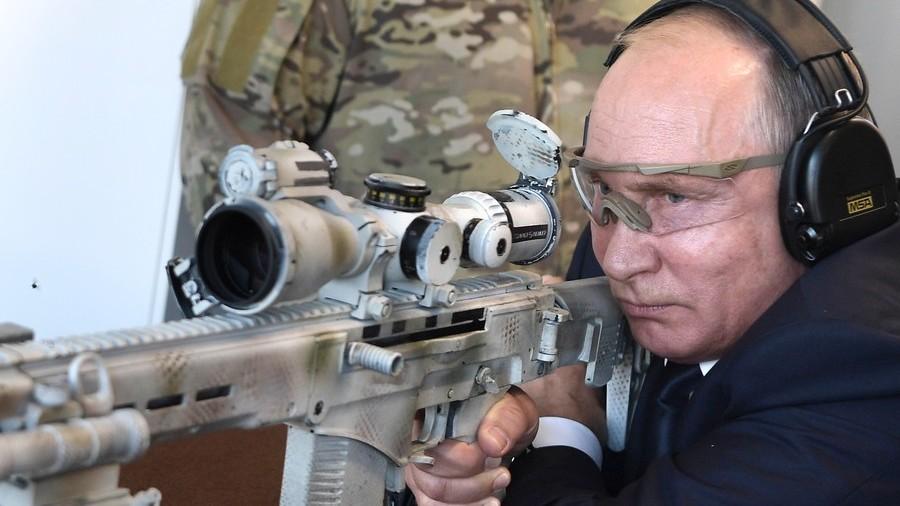 Sniper Putin