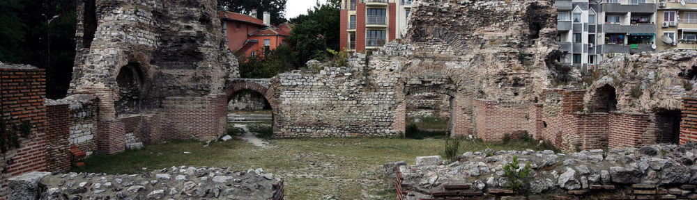 The Roman public baths in Odessos