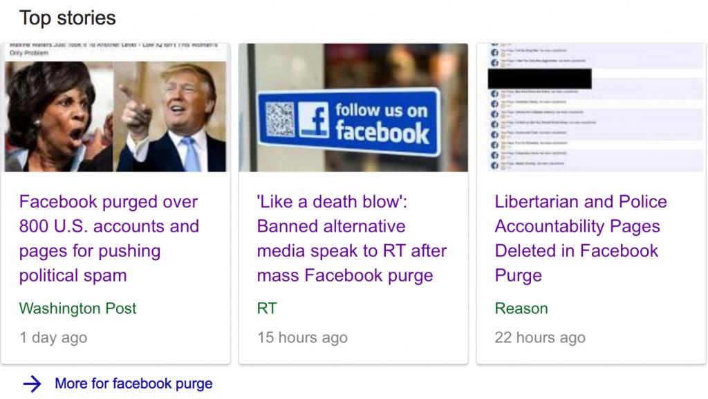 Social Media Purge Article