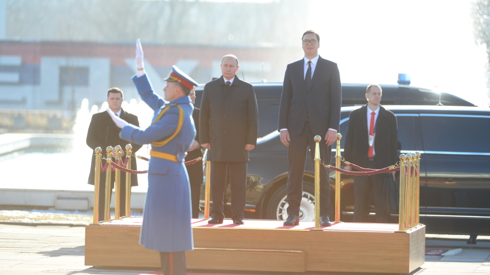 Putin's visit to Serbia – more hype than substance