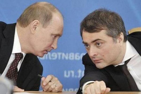 Владимир Путин и Владислав Сурков I Снимка: obozrevatel.com