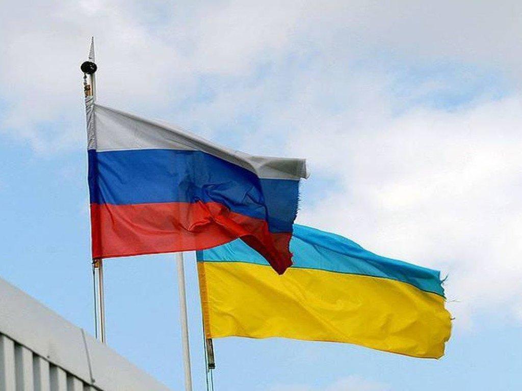 russia uraine flag