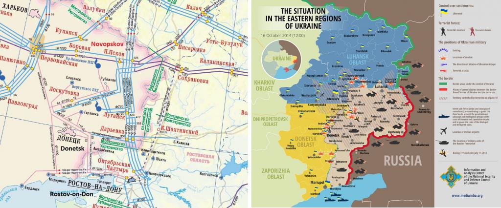 Ukraine-Russia-Pipelines