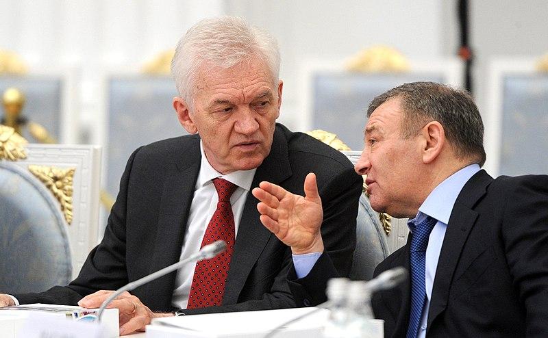 Генадий Тимченко и Аркадий Ротенберг