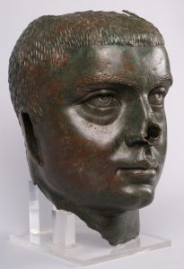 Бронзова глава на император Гордиан III