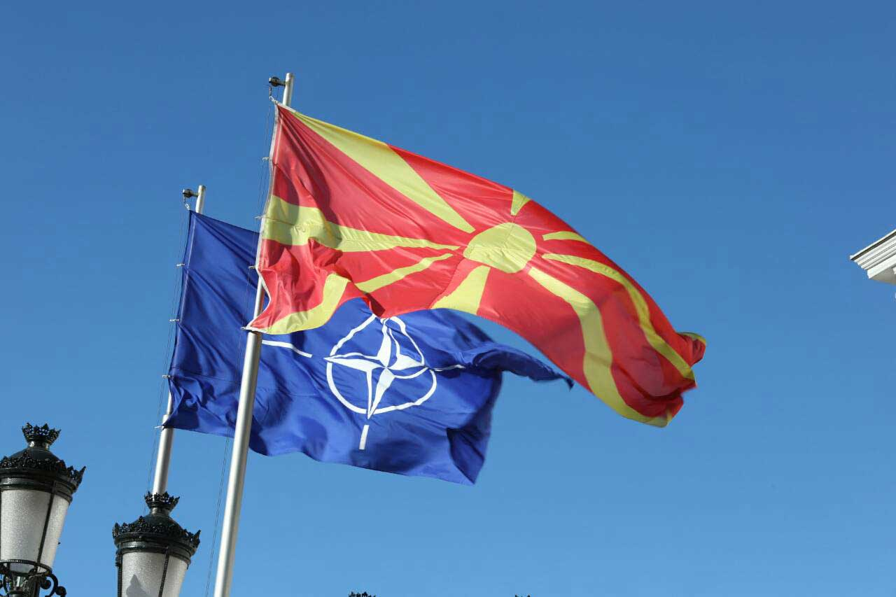 North Macedonia joins NATO