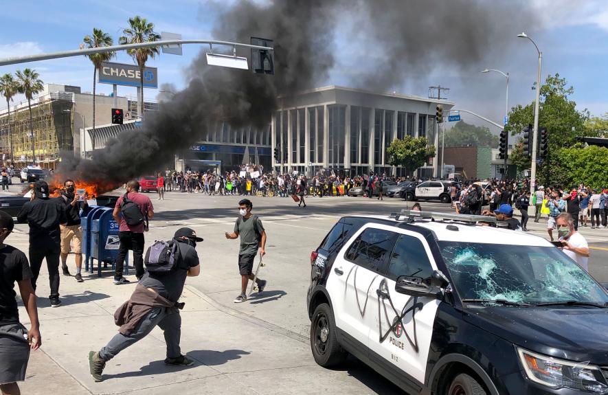 Mобилизираха Националната гвардия щата Джорджия и в Лос Анджелис, протестите обхванаха 25 града в САЩ