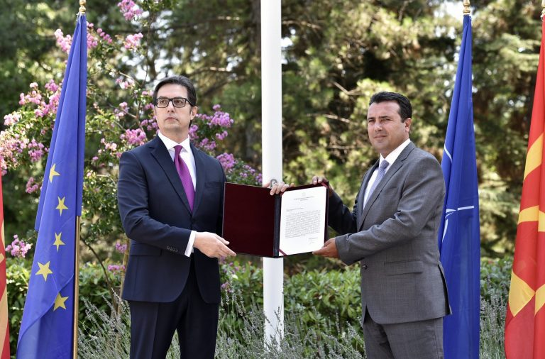Zaev receives the mandate to form the Government