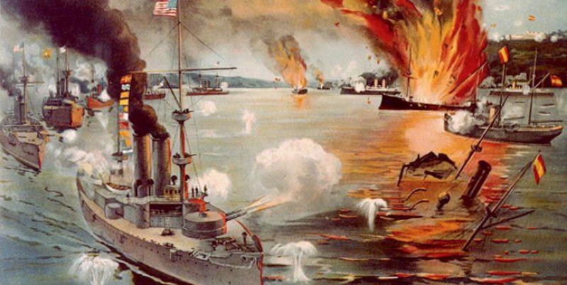 Битката при Манила по време на Испано-американската война / Илюстрация: Wikipedia